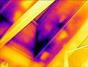 Badanie termowizyjne dachu