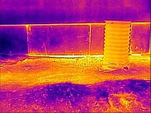 Nieszczelności izolacji termicznej cokołu